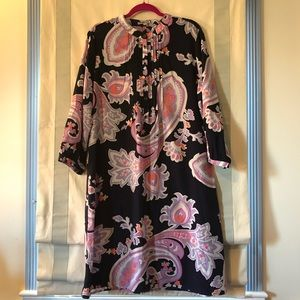 GAP Tropical Tunic Dress Size XL Tall Pre Loved.